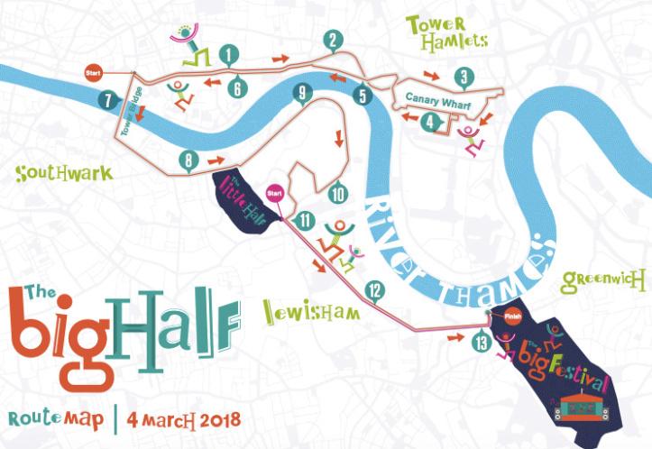 London Big Half Marathon